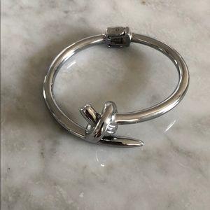 Jewelry - Knot bangle cuff bracelet.